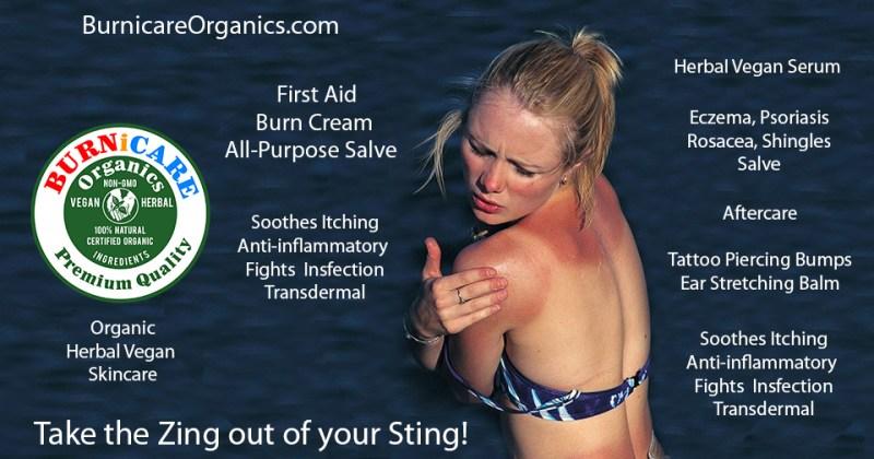 Burnicare Organics Herbal Vegan Skincare