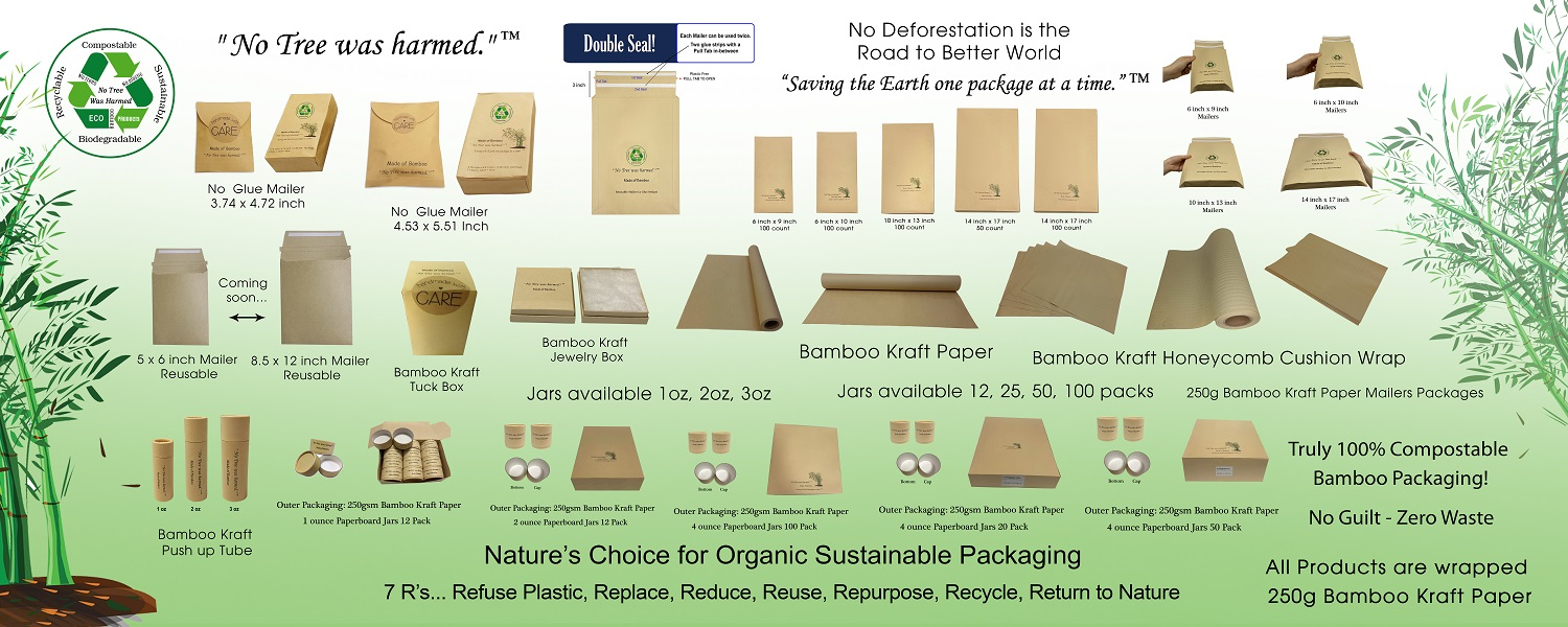 Bamboo is Nature's Choice for Sustainable Packaging.